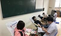 Chủ Nhật Đỏ: Sinh viên ĐH Đà Nẵng sưởi ấm ngày Đông lạnh bằng những giọt máu hồng