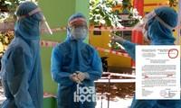 Đà Nẵng: Xuất hiện thông báo giả mạo cho học sinh nghỉ Tết sớm để chống dịch COVID-19