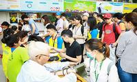 Sẻ chia với cộng đồng: Sinh viên ĐH HUTECH tổ chức ngày hội Hiến máu tình nguyện