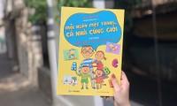 Cuốn nhật ký song ngữ Anh Việt giúp các độc giả nhí khơi dậy tiềm năng ngoại ngữ