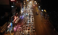 Đường Tây Sơn ùn tắc nhiều giờ vì dân dâng sao giải hạn