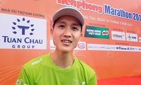 Runner Nguyễn Thượng Việt: 'Ấn tượng với medal khắc tên chính chủ'