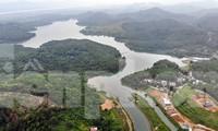 Toàn cảnh nhà máy nước sông Đà, nơi nguồn nước sạch cho Thủ đô đang bị đe dọa