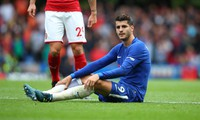 Morata sẽ vắng mặt ở trận gặp Huddersfield vì lý do sức khỏe.