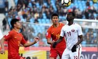 U23 Trung Quốc bị loại sau khi thua U23 Qatar.