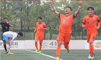 Nguyễn Hữu Khôi ghi bàn thứ 2 trên đất Hàn Quốc.