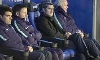 Barcelona của HLV Ernesto Valverde đã chạm 1 tay vào chức vô địch La Liga.