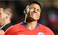 Alexis Sanchez nhiều khả năng không ra sân ở trận Chile - Uruguay.