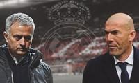 HLV Mourinho sẽ thay HLV Zidane dẫn dắt Real Madrid trong thời gian tới.