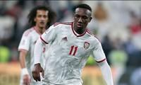 Tiền đạo Ahmed Khalil của đội tuyển UAE.