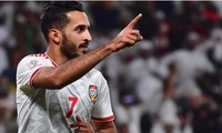 Ali Mabkhout sẽ lỡ trận gặp tuyển Việt Nam vì án treo giò.
