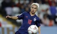 Chanathip Songkrasin trở lại danh sách đội tuyển Thái Lan.