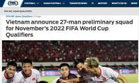 Fox Sports Asia đánh giá cao danh sách đội tuyển Việt Nam.