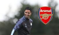 HLV Mikel Arteta của Arsenal.