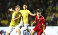 Bóng đá Việt Nam bất bại trước bóng đá Thái Lan trong năm 2019.
