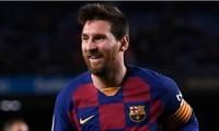 Lionel Messi cán mốc 500 trận thắng trong màu áo Barcelona.
