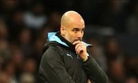 HLV Guardiola rất thất vọng khi Man City thua Tottenham 0-2.
