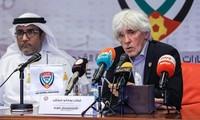 HLV Ivan Jovanovic trong ngày nhậm chức HLV trưởng ĐTQG UAE.