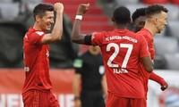 Bayern Munich có chiến thắng tưng bừng trước Frankfurt.