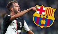 Miralem Pjanic chỉ còn chờ ngày ra mắt Barcelona.