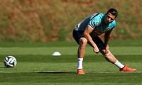 Cristiano Ronaldo bị nhiễm trùng ở bàn chân.