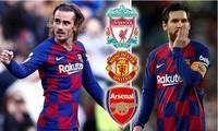 Antoine Griezmann có thể tìm cách rời Barcelona khi Messi quyết định ở lại.