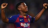 Ansu Fati còn hợp đồng tới hè 2022 với Barcelona.