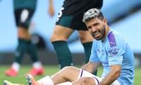 Aguero vẫn chưa thể trở lại thi đấu.
