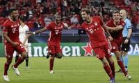 Bayern Munich bỏ túi 4,5 triệu euro tiền thưởng từ chức vô địch Siêu cúp châu Âu 2020.