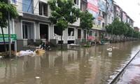 Cư dân sống trong biệt thự triệu đô ở KĐT Geleximco-Lê Trọng Tấn bức xúc vì ở gần chục năm mà cứ mưa to là ngập lụt