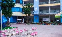 Nhiệt độ ngày 31/1 vào lúc 6h sáng tại Hà Nội xuống còn 9,7 độ giảm 0,2 độ so với ngày 30/1, học sinh mầm non, tiểu học tiếp tục được nghỉ học.