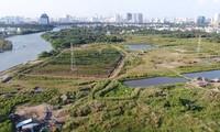 Một phần khu đất Quốc Cường Gia Lai mua của Công ty Tân Thuận đang gây xôn xao dư luận