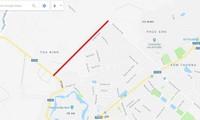 Tuyến đường H2 có chiều dài chỉ hơn 1,39km được Bắc Ninh thực hiện theo hình thức hợp đồng BT.