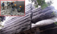 Cao ốc xây vượt tầng gần Hồ Gươm bất ngờ tháo dỡ