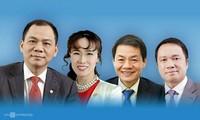 4 tỷ phú Việt Nam lọt danh sách của Forbes 2020. Đồ hoạ: Tạ Lư.