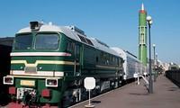 Đoàn tàu tử thần chở tên lửa RT-23 cũ của Nga. Ảnh: Wikicommón