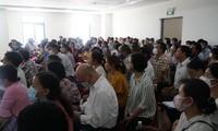 Một phiên tòa liên quan đến tranh chấp bất động sản được TAND TP Đà Nẵng xét xử.