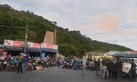 CSGT Đà Nẵng dẹp đường, tiếp sức đoàn xe máy từ TPHCM vượt đèo Hải Vân về quê