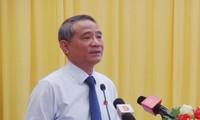 Bí thư Đà Nẵng, Trương Quang Nghĩa tại buổi tiếp xúc cử tri Hòa Vang