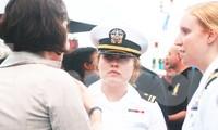 Những 'bông hồng thép' trên tàu sân bay USS Theodore Roosevelt