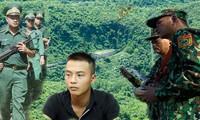 Các lực lượng chức năng triển khai lực lượng tìm kiếm phạm nhân Triệu Quân Sự trong hơn 3 ngày qua. Ảnh: Nguyễn Thành