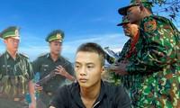 Lực lượng chức năng triển khai lực lượng và sử dụng phương tiện bay không người lái truy tìm dấu vết phạm nhân Triệu Quân Sự.