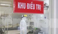 Bên trong khu điều trị bệnh nhân COVID-19 ở bệnh viện Đà Nẵng. Ảnh: Nguyễn Thành