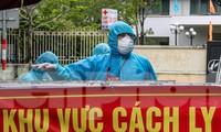 Đà Nẵng đang khẩn trương, huy động tổng lực để khoanh vùng dập dịch COVID-19. Ảnh: Nguyễn Thành