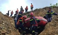 Tìm thấy thêm thi thể nạn nhân ở khu vực sạt lở thủy điện Rào Trăng 3