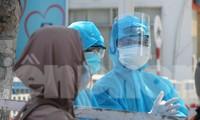 Nhân viên y tế TP Đà Nẵng làm việc trong khu vực cách ly y tế hồi tháng 8/2020. Ảnh: Nguyễn Thành