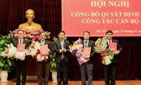 Thành uỷ Đà Nẵng công bố các quyết định về công tác cán bộ vào sáng ngày 19/1.
