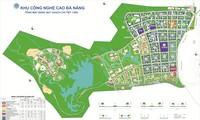 Mặt bằng quy hoạch khu công nghệ cao Đà Nẵng.