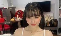 Hotgirl Trương Thị Kiều Trang trước khi bị bắt.