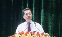 Ông Nguyễn Văn Quảng, Bí thư Thành uỷ Đà Nẵng được giới thiệu ứng cử ĐBQH khoá XV. Ảnh: Nguyễn Thành